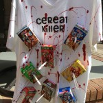 Halloween cereal killer recycled